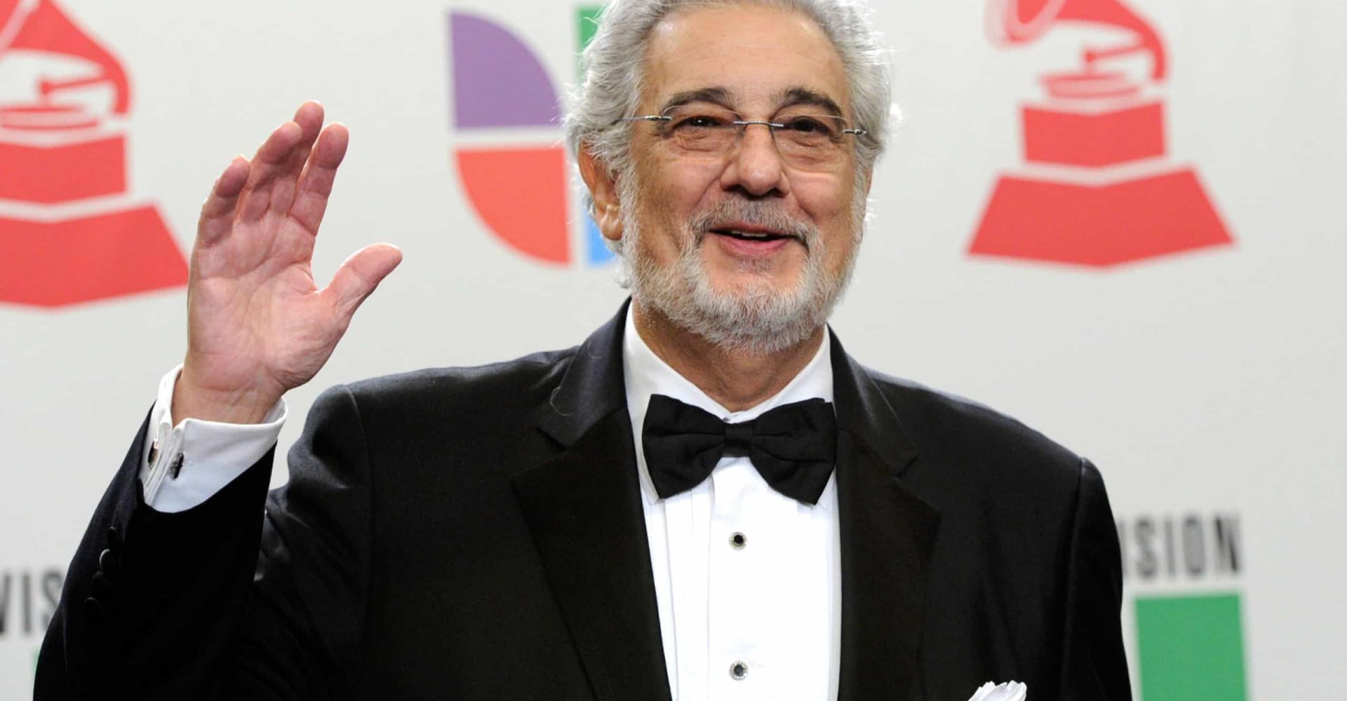 Plácido Domingo y otras celebridades acusadas de delitos sexuales