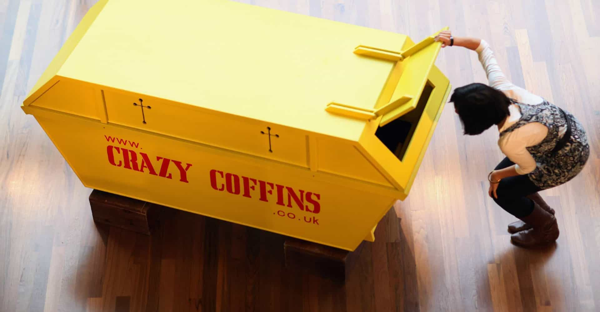 Lifting the lid off fantasy coffins