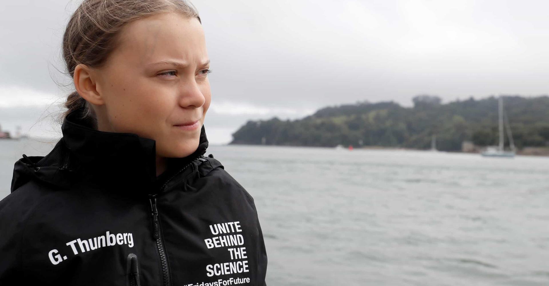 Greta Thunberg: a girl saving the world