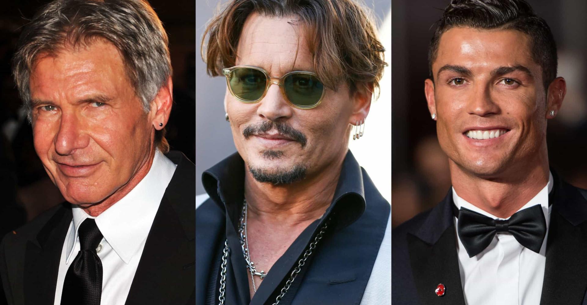 Berømte menn som elsker ørepynt