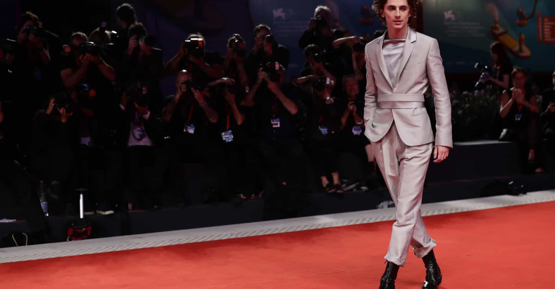 Timothée Chalamet is raising the bar for men's fashion