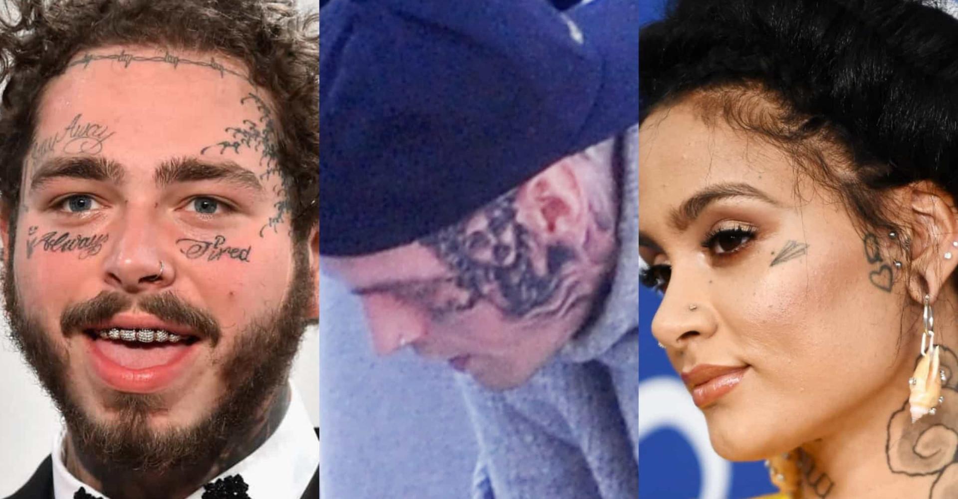 Ousadas: as celebridades que fizeram tatuagens no rosto!