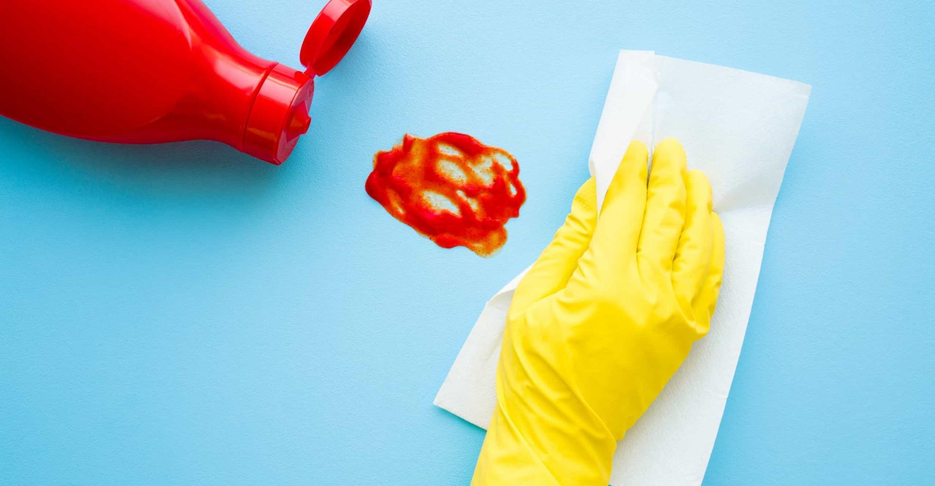 Schoonmaken met ketchup? Het kan echt!