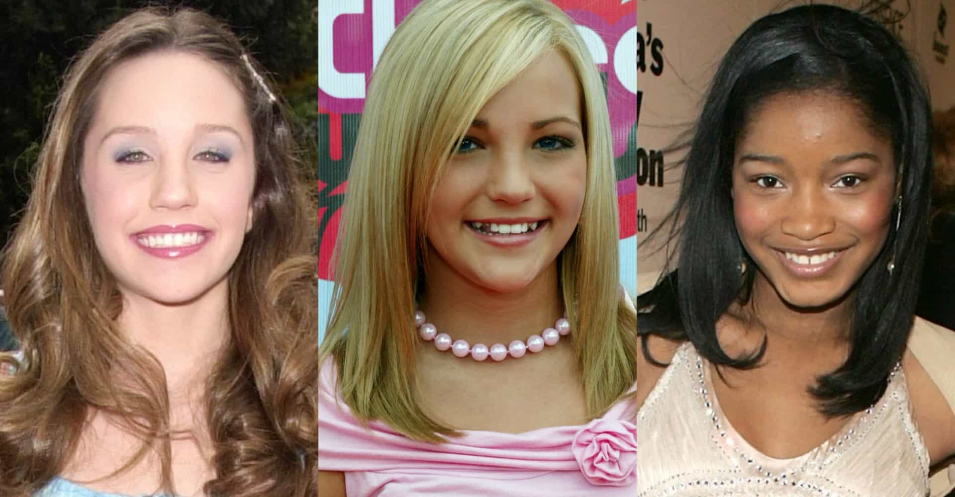 Nickelodeon stars: Then and now