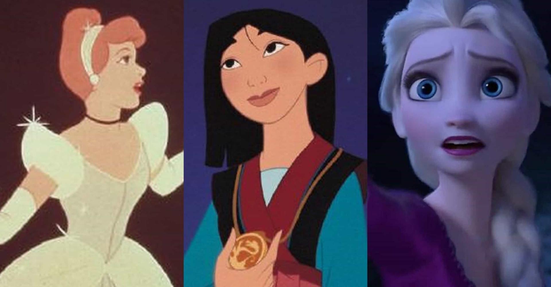 De mocinhas frágeis a heroínas fortes, veja a evolução das princesas da Disney!