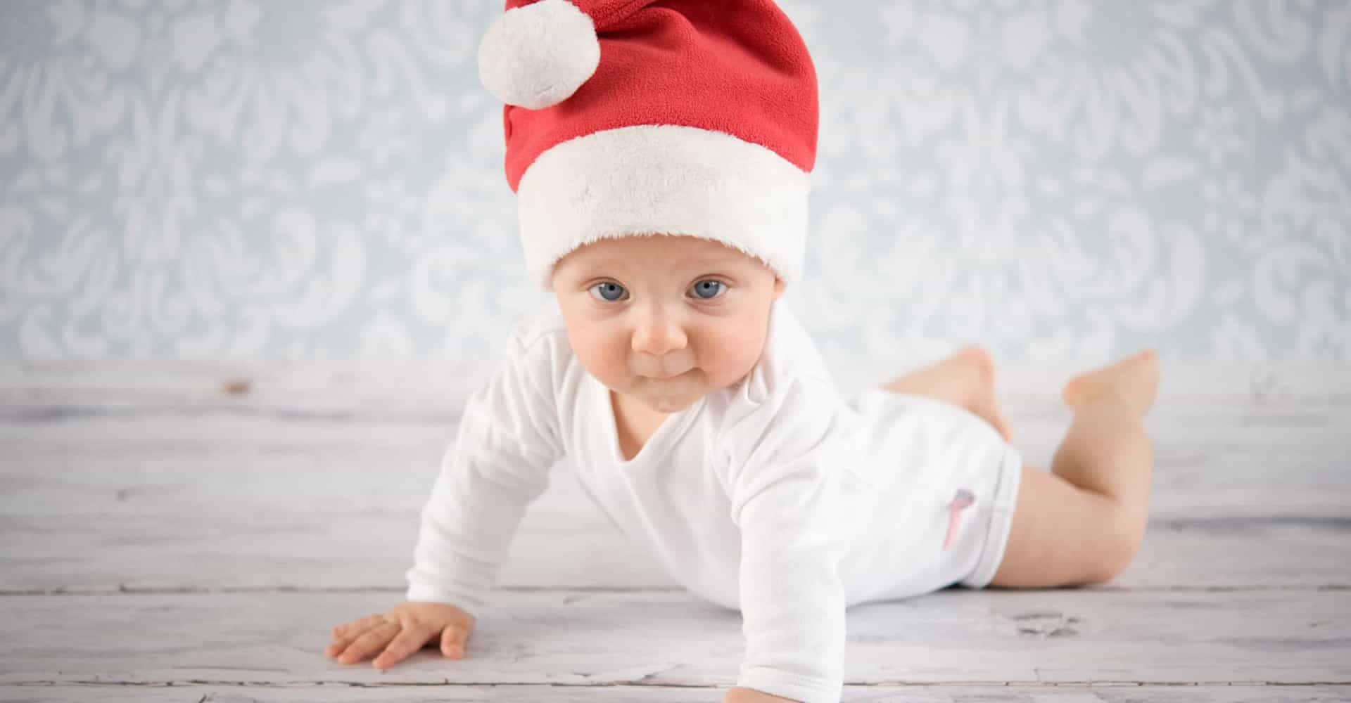 The cutest babies celebrating Christmas