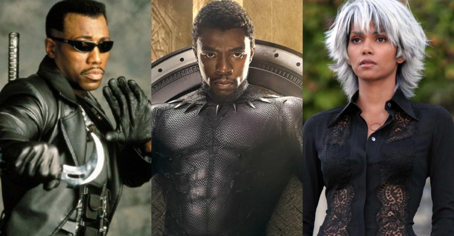 Os super-heróis negros que fizeram história!