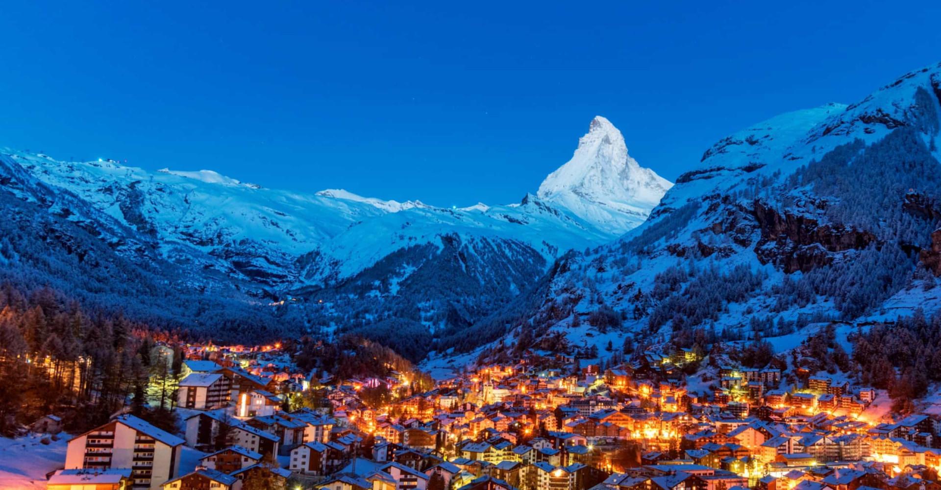 Zoning out in Zermatt
