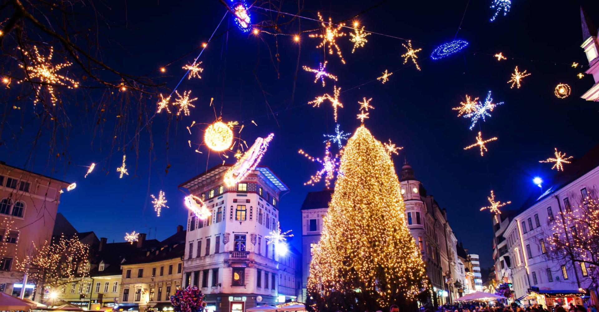 As árvores de Natal mais belas e imponentes do mundo