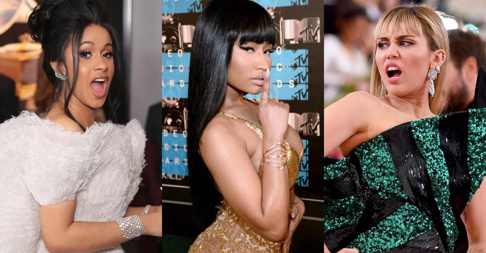 Everyone Nicki Minaj has ever called out in public