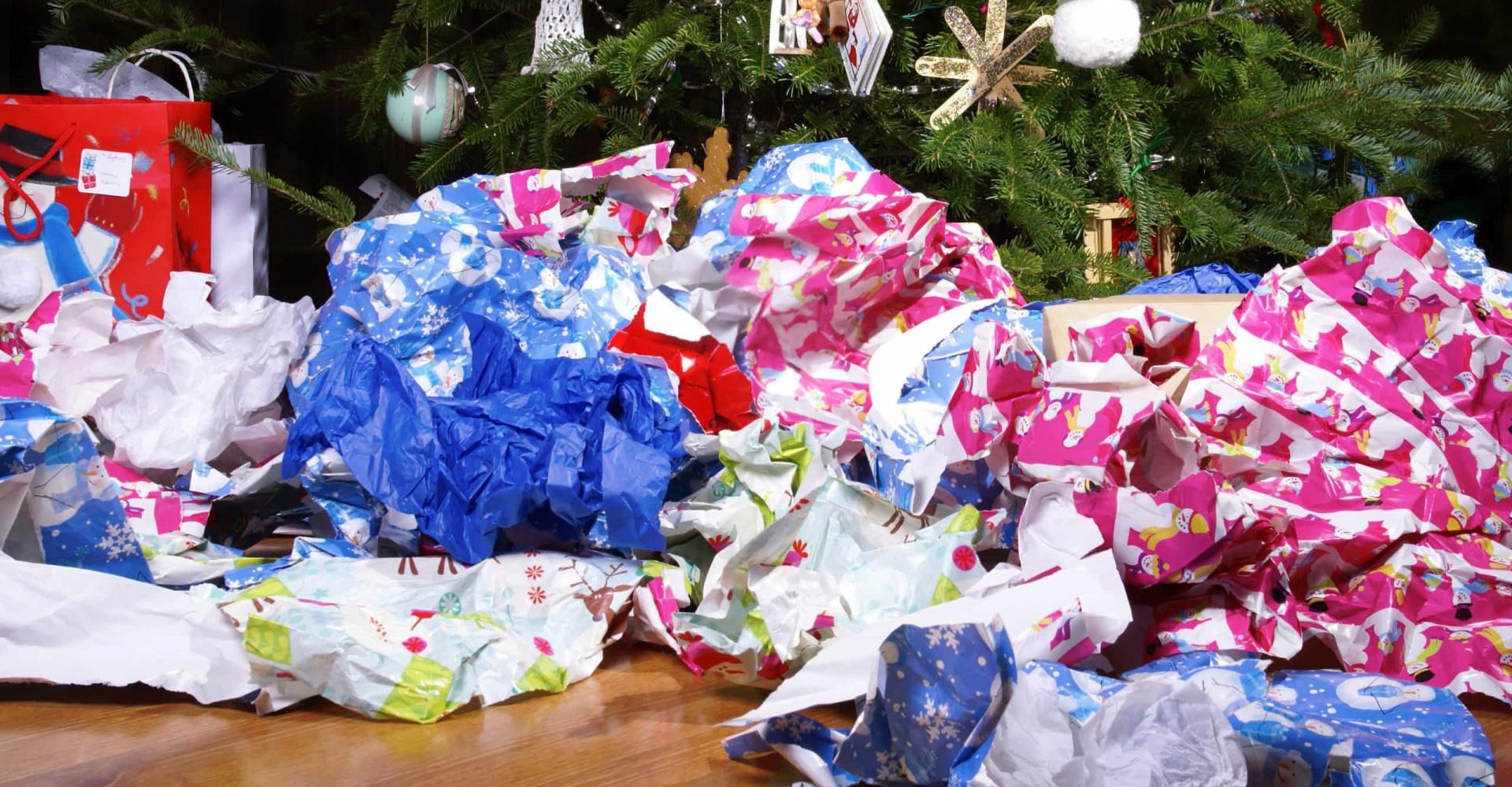 Hoe recyclebaar is cadeaupapier?