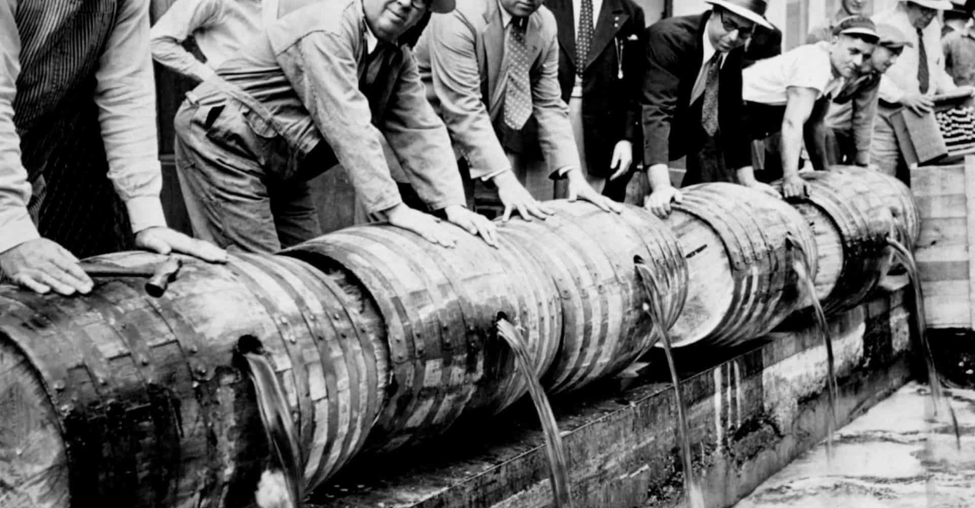 Vad innebar rusdrycksförbudet i USA?