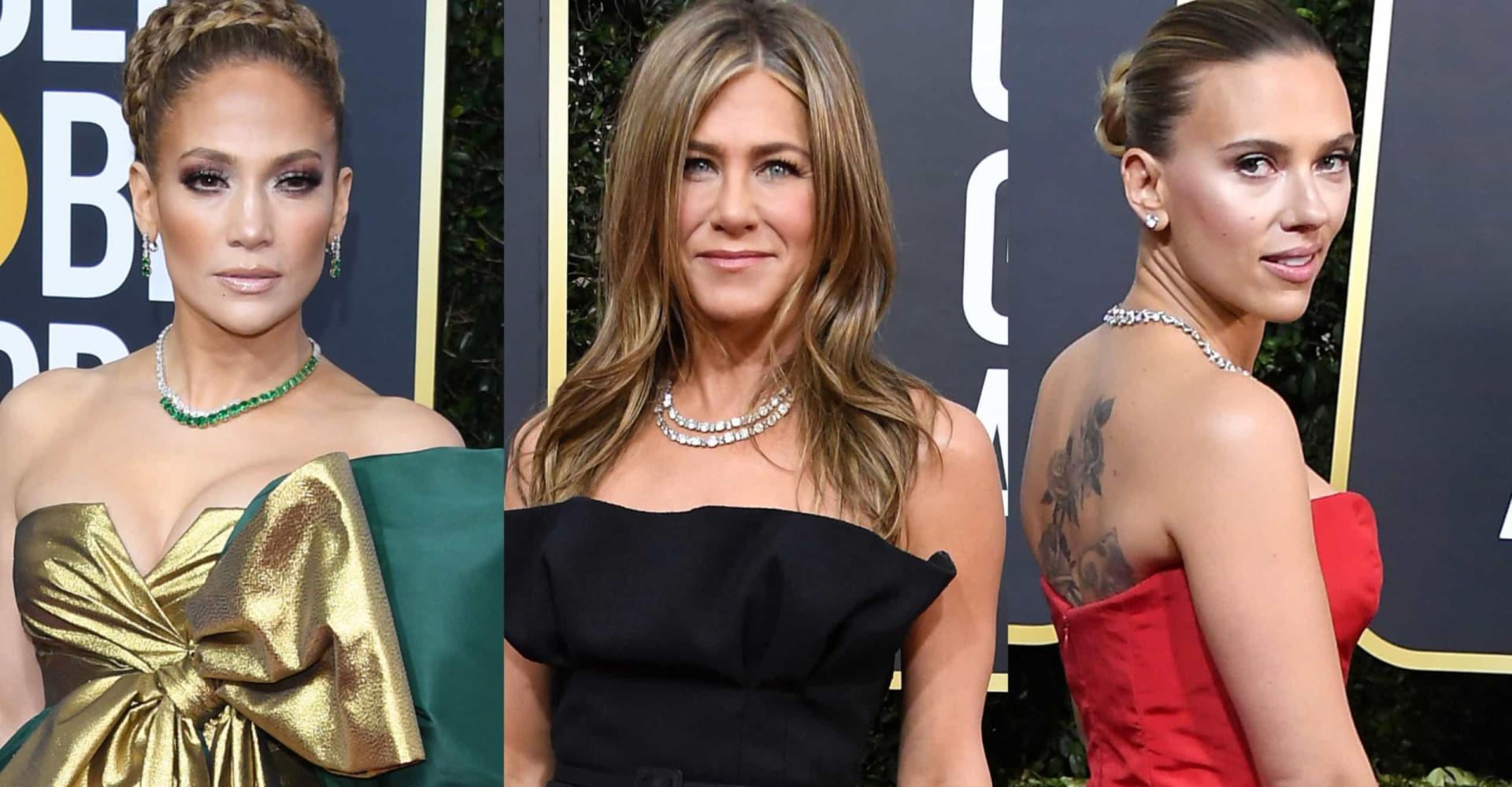 Globo de Ouro 2020: os looks das estrelas no tapete vermelho