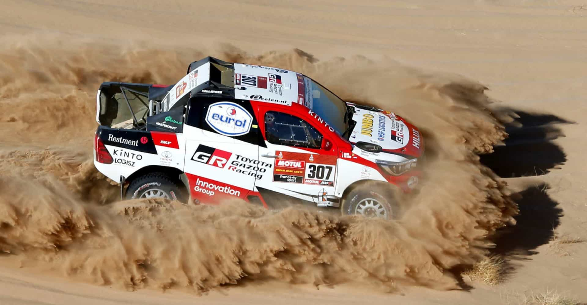 Rallye Dakar: une décennie de course en photos!