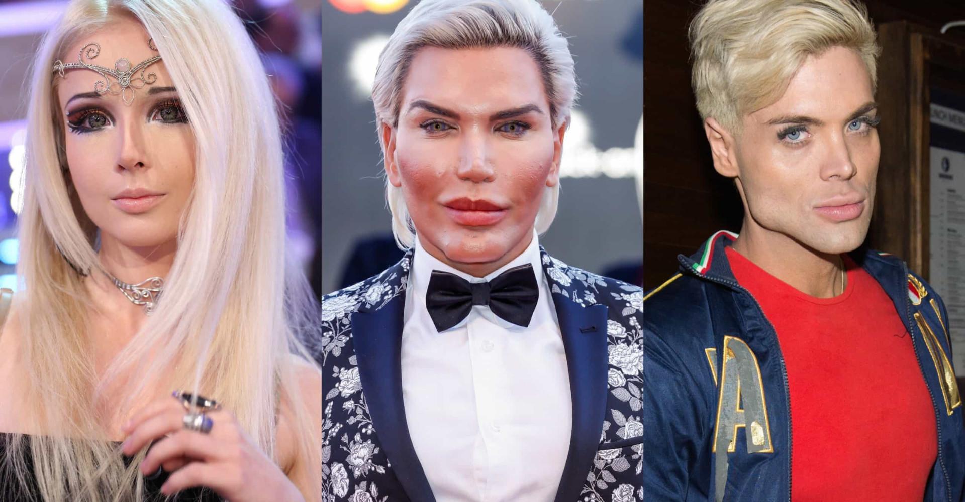 Ces personnes ressemblent à de véritables figurines humaines