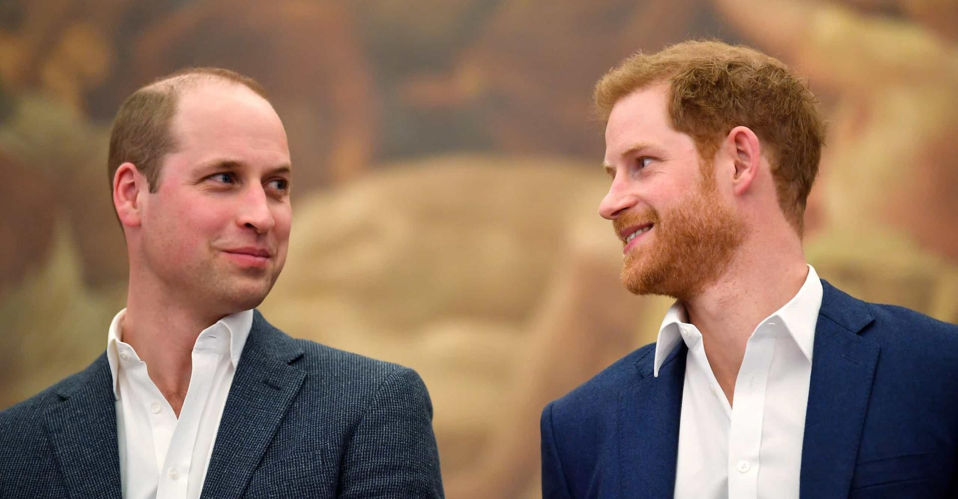 El fuerte vínculo existente entre los príncipes William y Harry