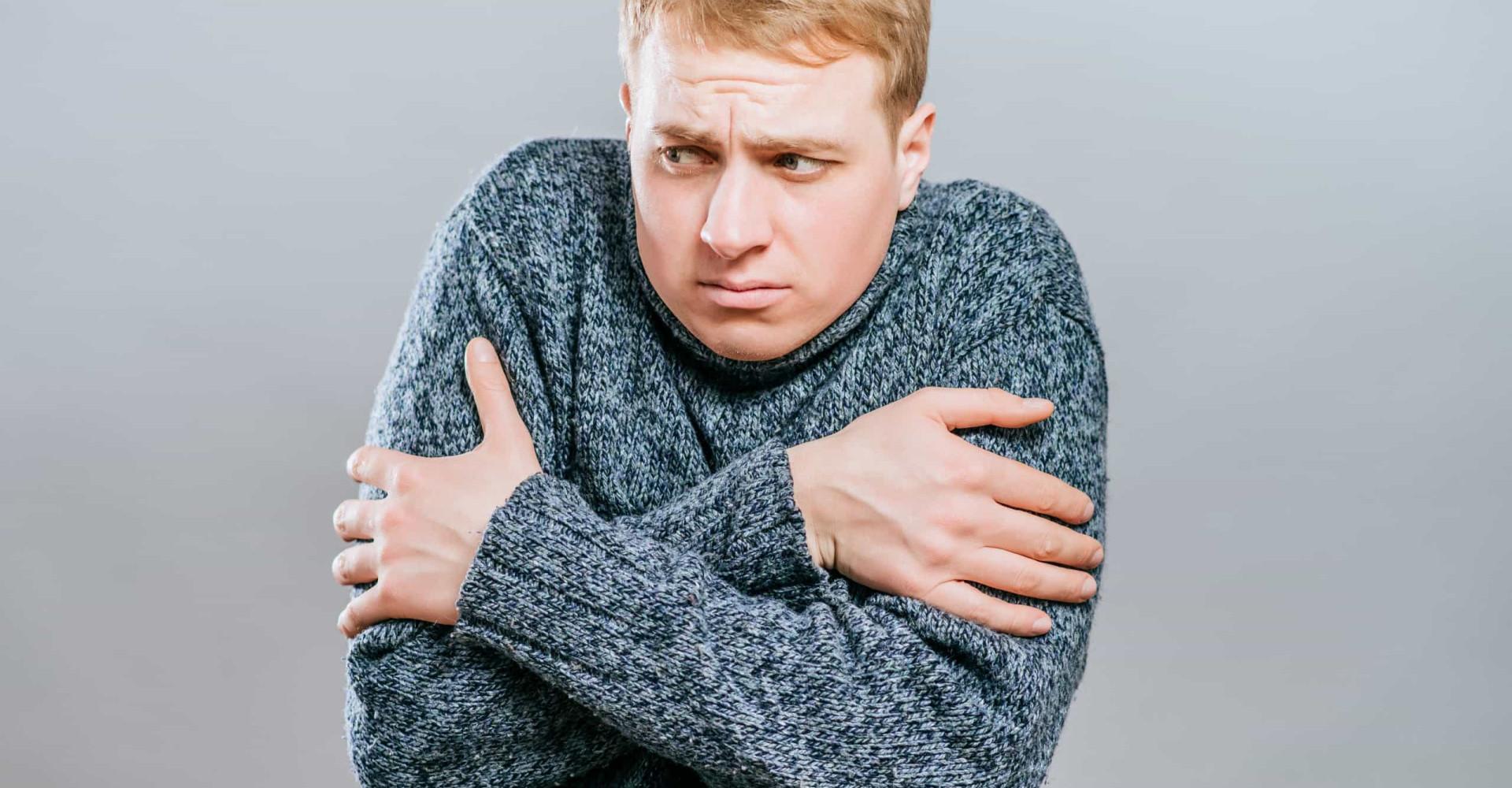 Waarom je koude rillingen krijgt bij hoge koorts