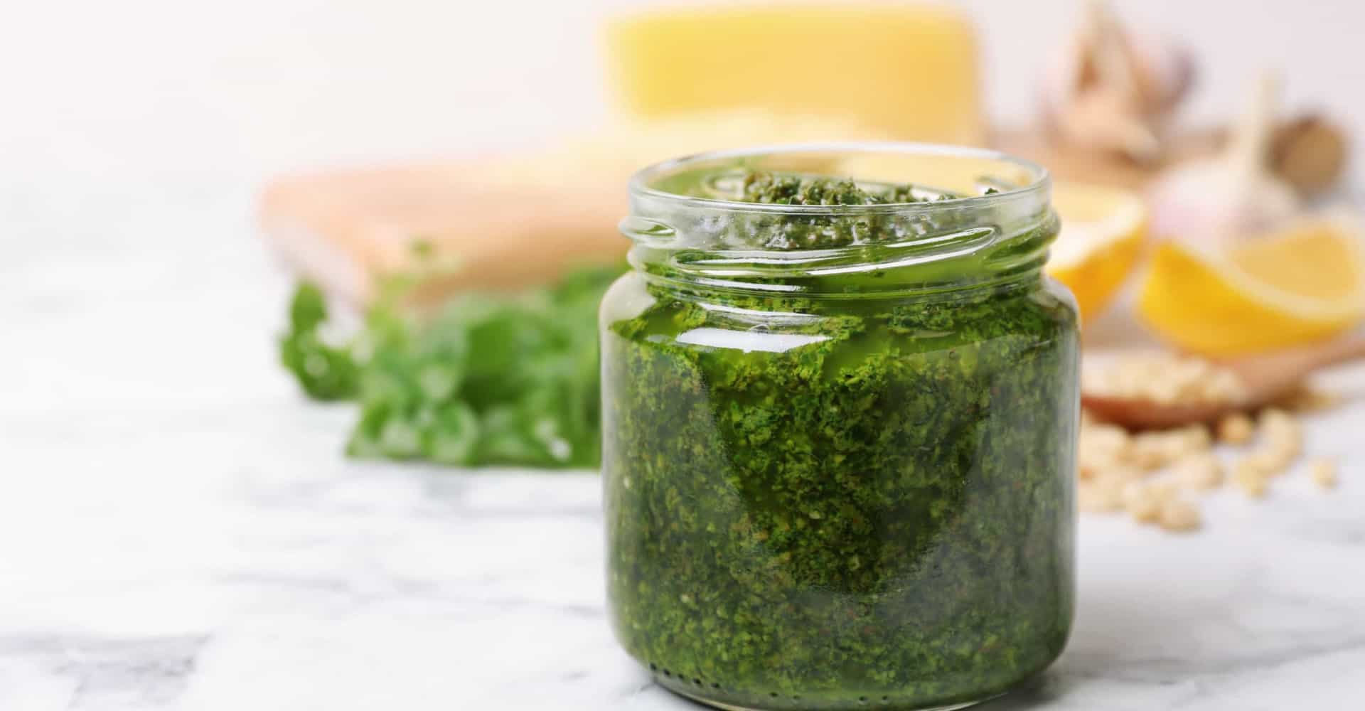 The best meals to enjoy pesto with