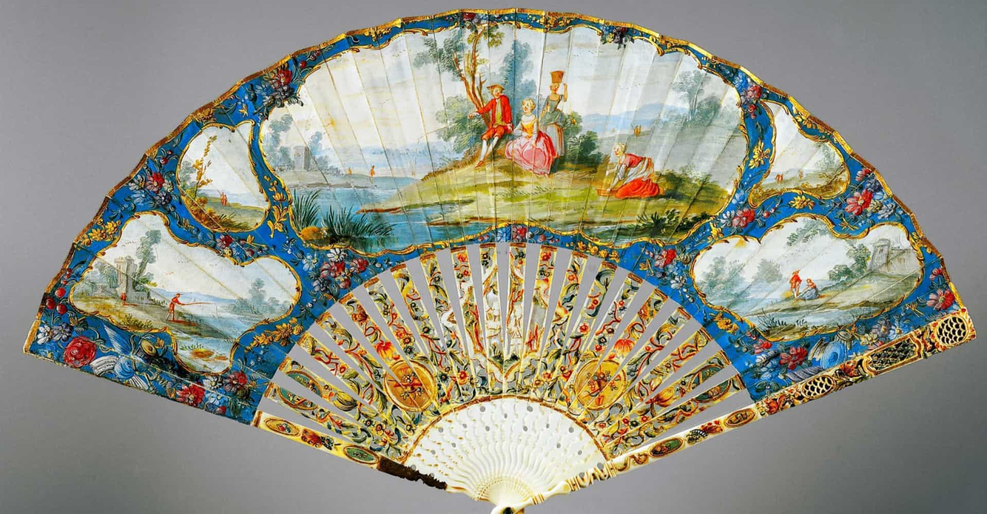 The history behind the fan, one of the world's oldest fashion accessories