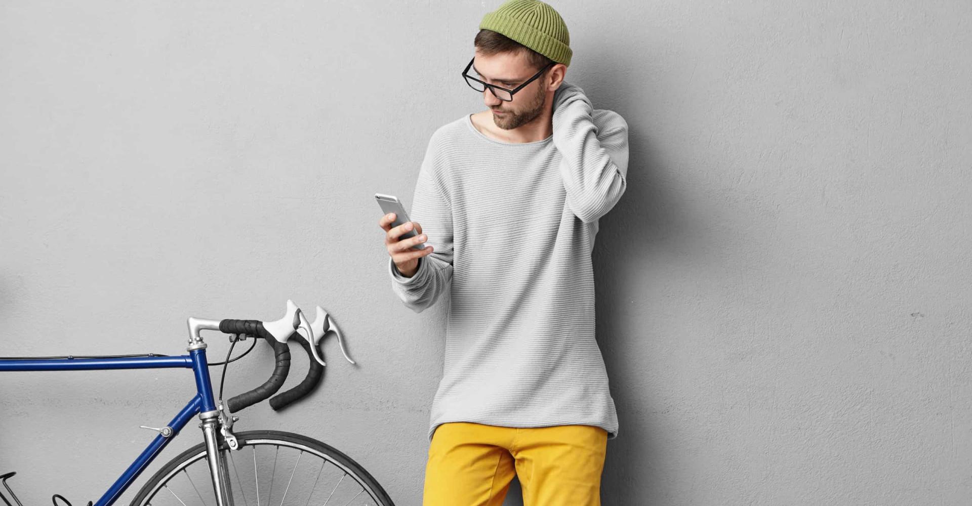 Smartphonegebruik kan leiden tot een tekstnek