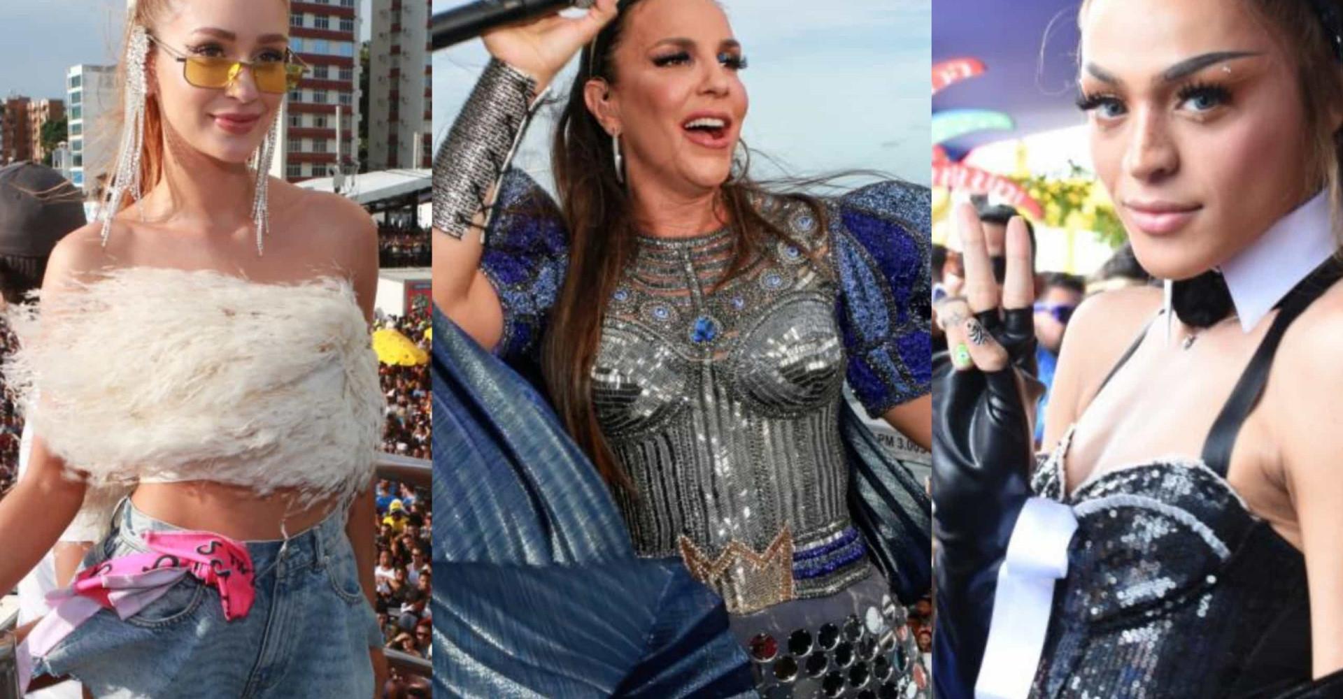 Carnaval 2020: a folia dos famosos nos camarotes, blocos e trios