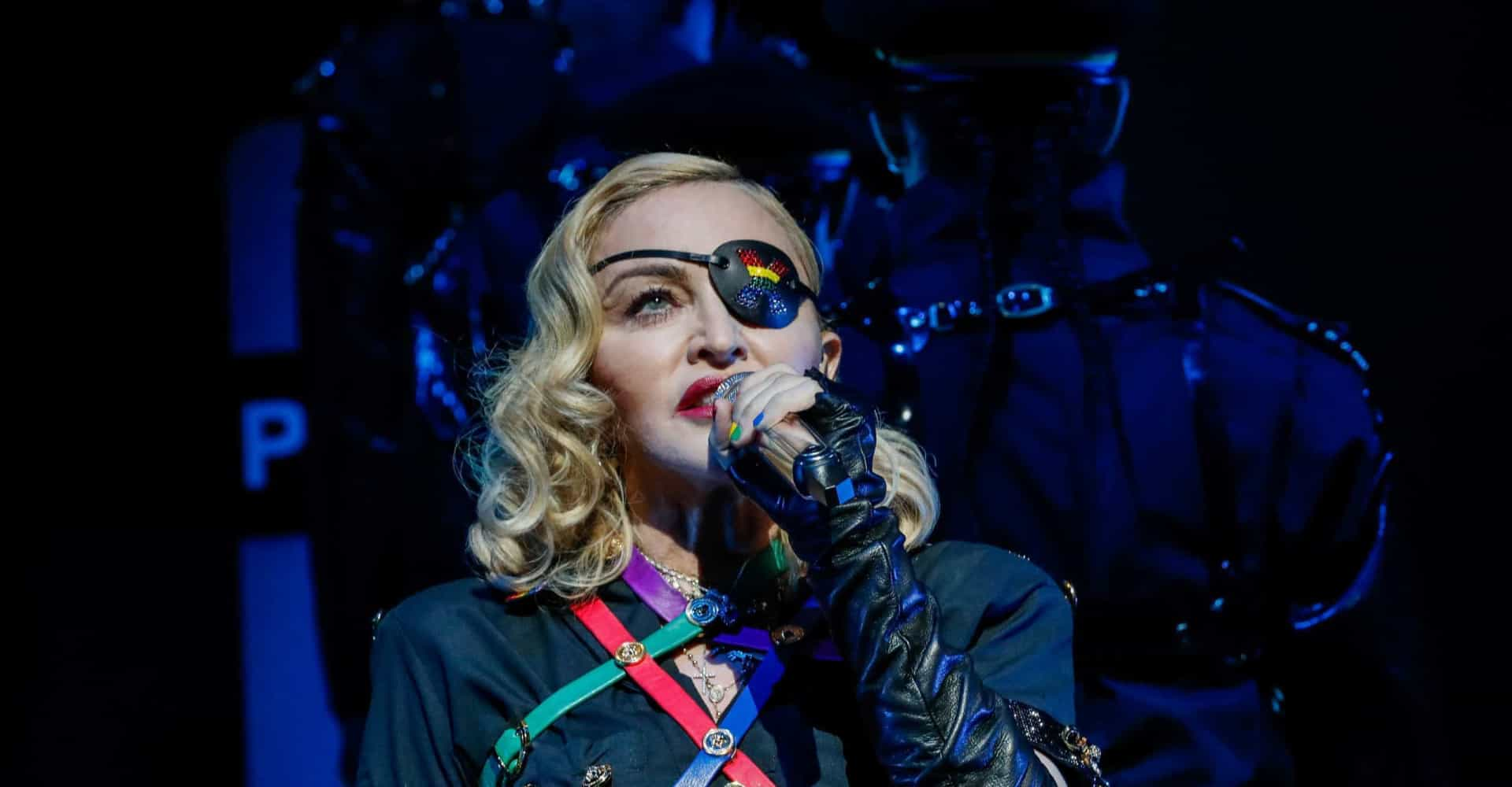 Madonna and other artists who couldn't perform due to health problems