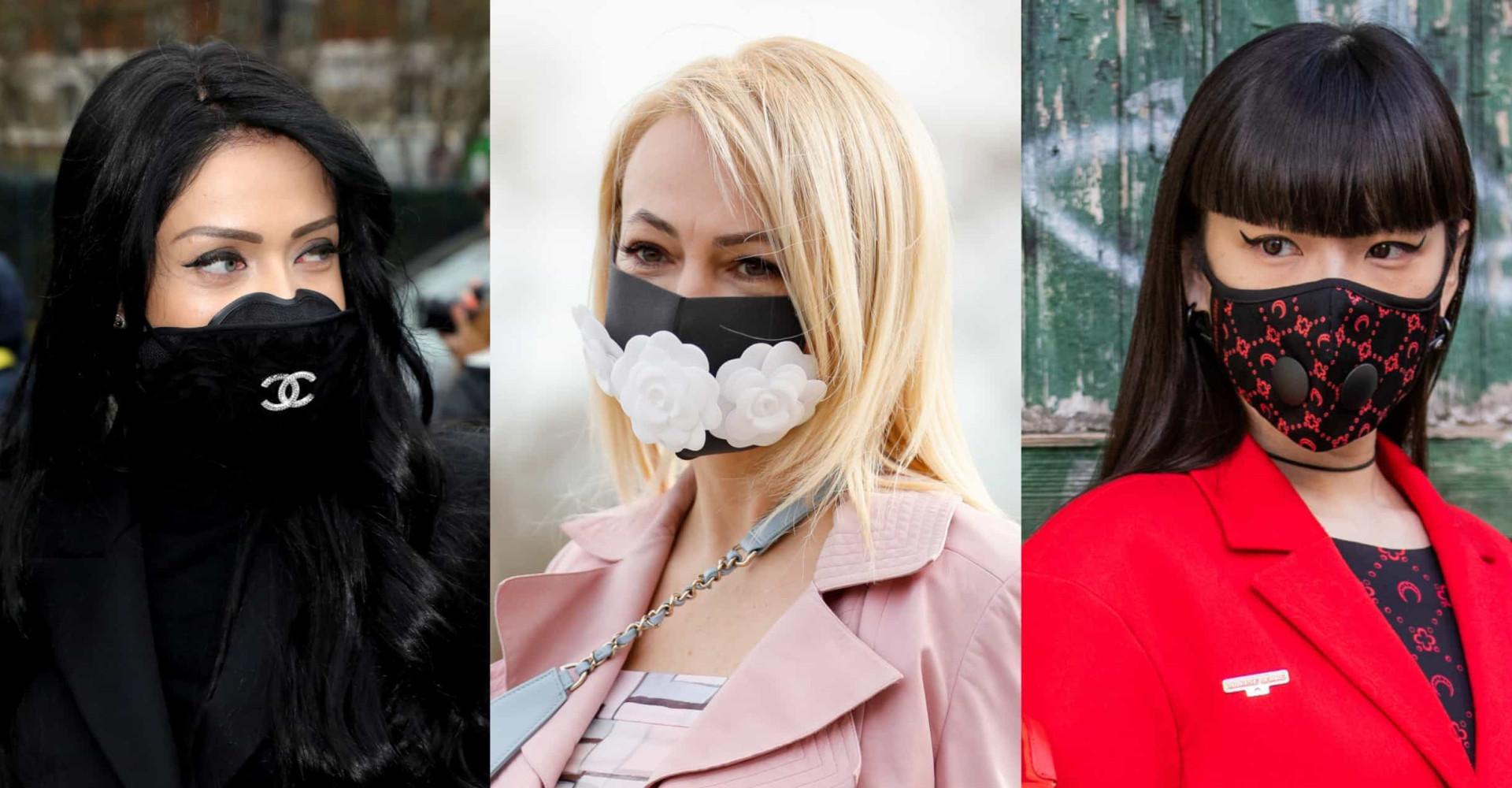 Hengityssuojaimet: vuoden 2020 asuste on nyt muodikas