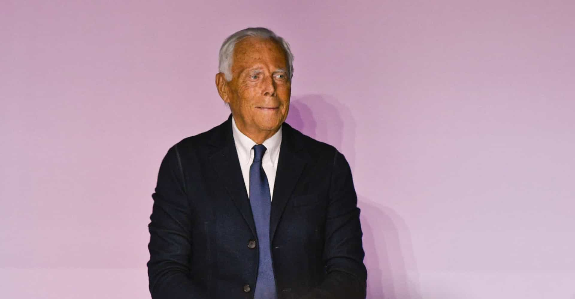 Hearts of gold: Giorgio Armani and other incredibly charitable celebs