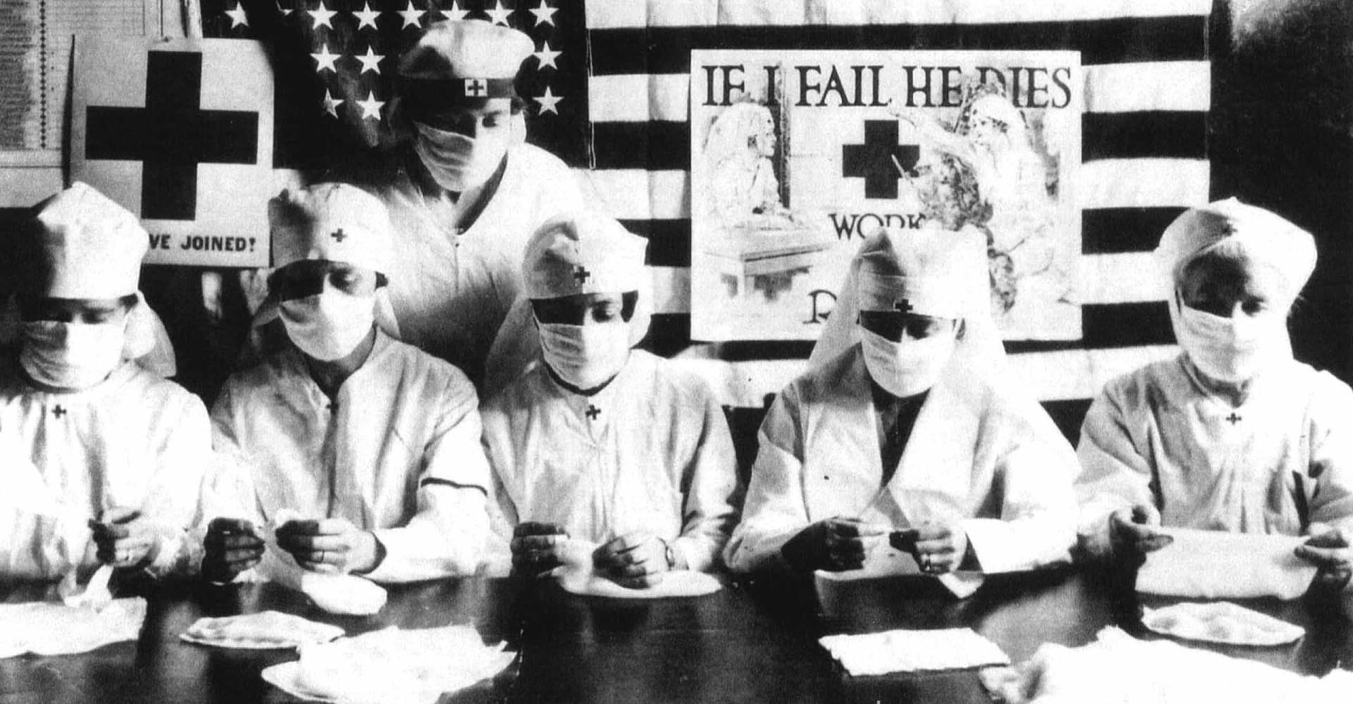 코로나 특집: 사진으로 되돌아보는 '1918년 스페인 독감'