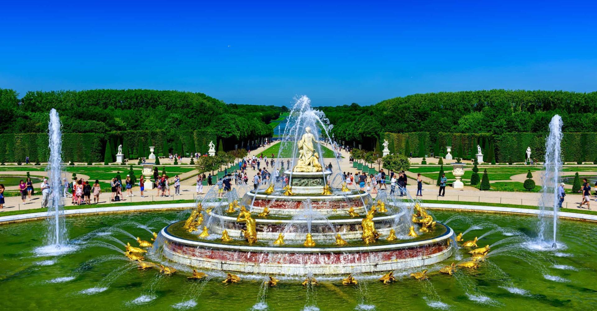 Des fontaines splendides à travers le monde