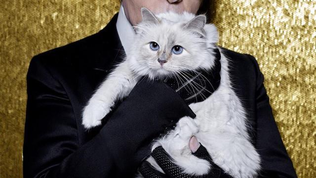 Modets kejsare, Karl Lagerfeld är död