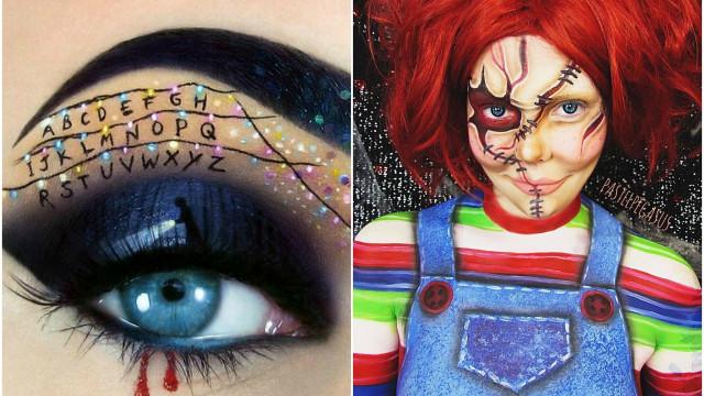 Schminktipps für den Grusel-Look an Halloween