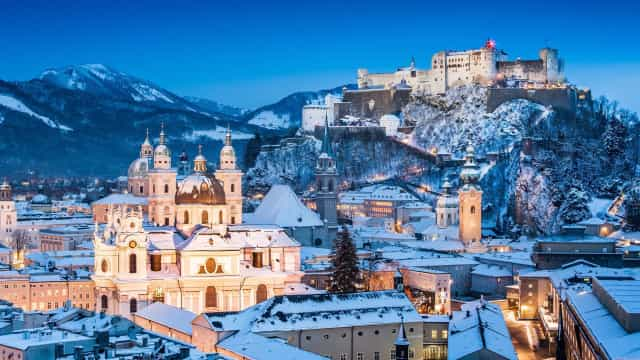 The most seasonal locations in the world to spend a white Christmas