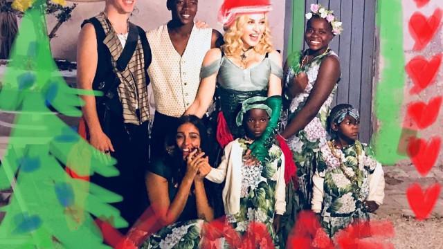 ¿Cómo celebraron la Navidad los famosos el año pasado?