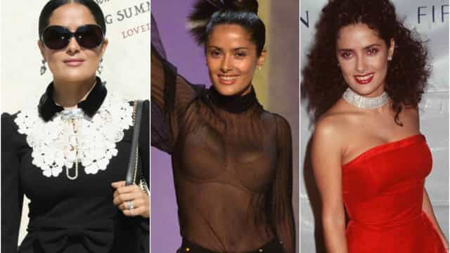 Salma Hayek's style through the years