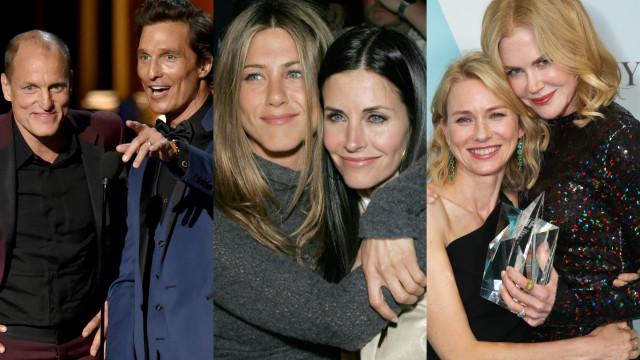 Diese Hollywoodstars sind ziemlich beste Freunde