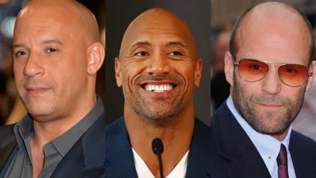 De knapste kale mannen van Hollywood