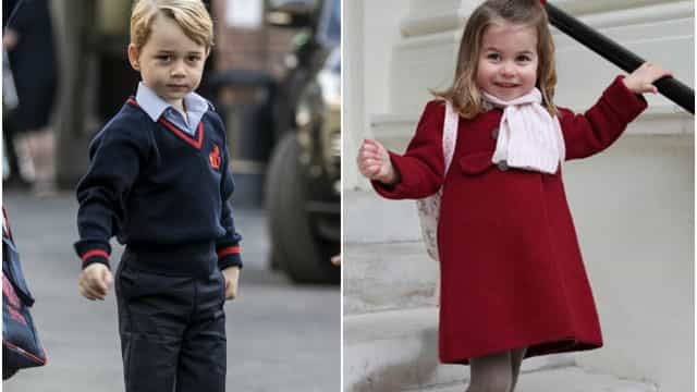 The cute and sophisticated style of the British royal children
