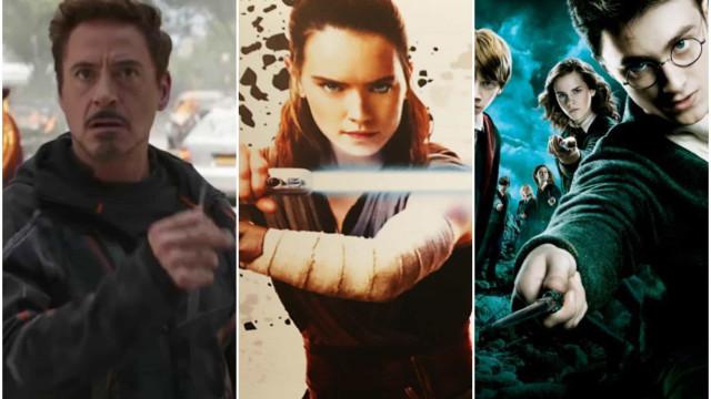 Descubre las mayores franquicias cinematográficas de la historia