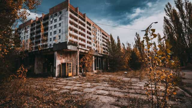 After Chernobyl: meet the Ukrainian ghost city