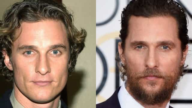 Celebrities who changed drastically after growing a beard