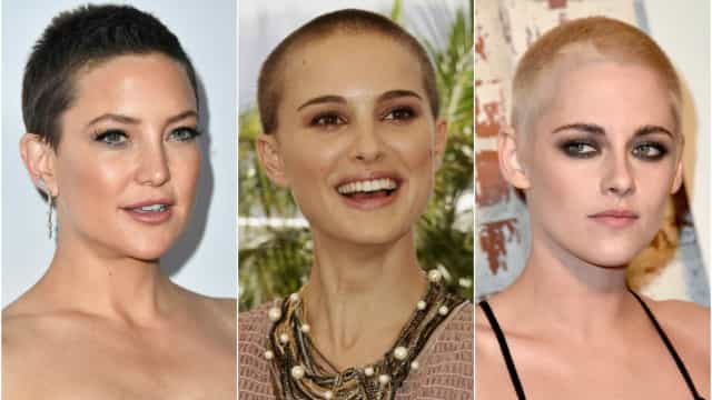 Female celebrities who've shaved their head