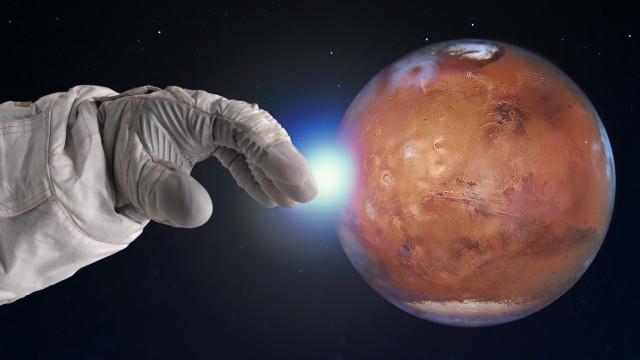 Deutscher Wissenschaftler prophezeite Mars Eroberung