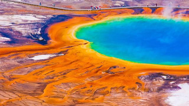 Spektakuläre Seen dieser Erde