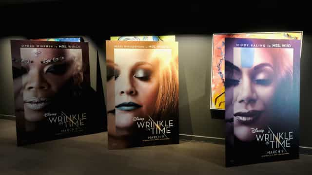 Select theaters will have free screenings of 'A Wrinkle in Time'