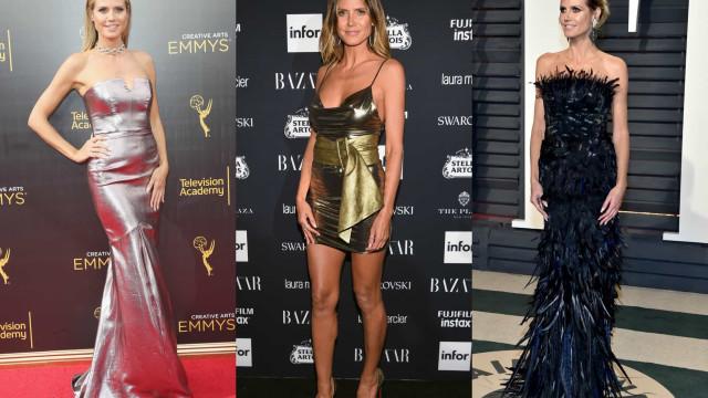 Os melhores looks da icónica Heidi Klum