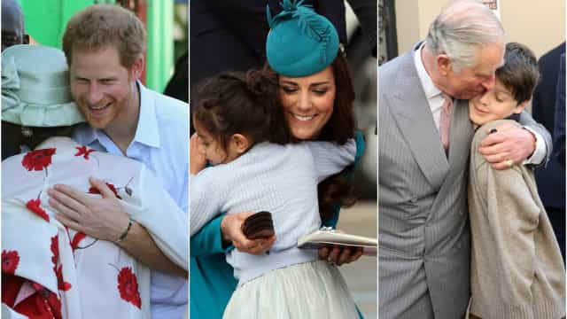 The best royal hugs