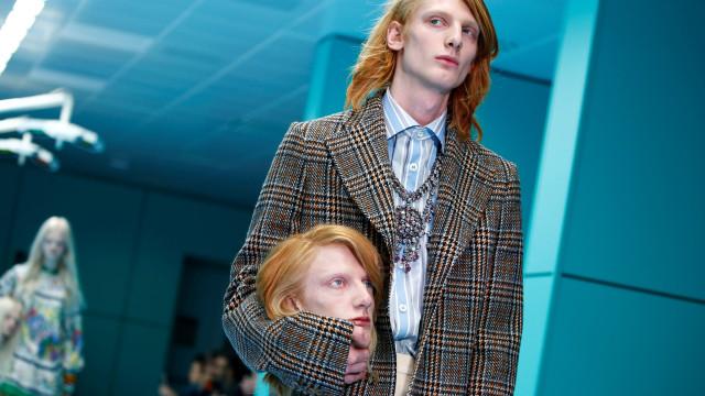 Le défilé surréaliste de Gucci à Milan
