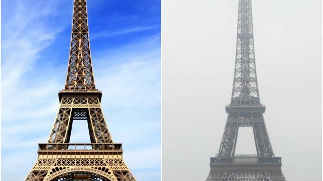 Zo zien 's werelds grootste toeristische attracties er in de winter uit
