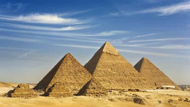 Los secretos de las pirámides de Guiza
